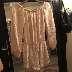 Brandy Melville blush romper!